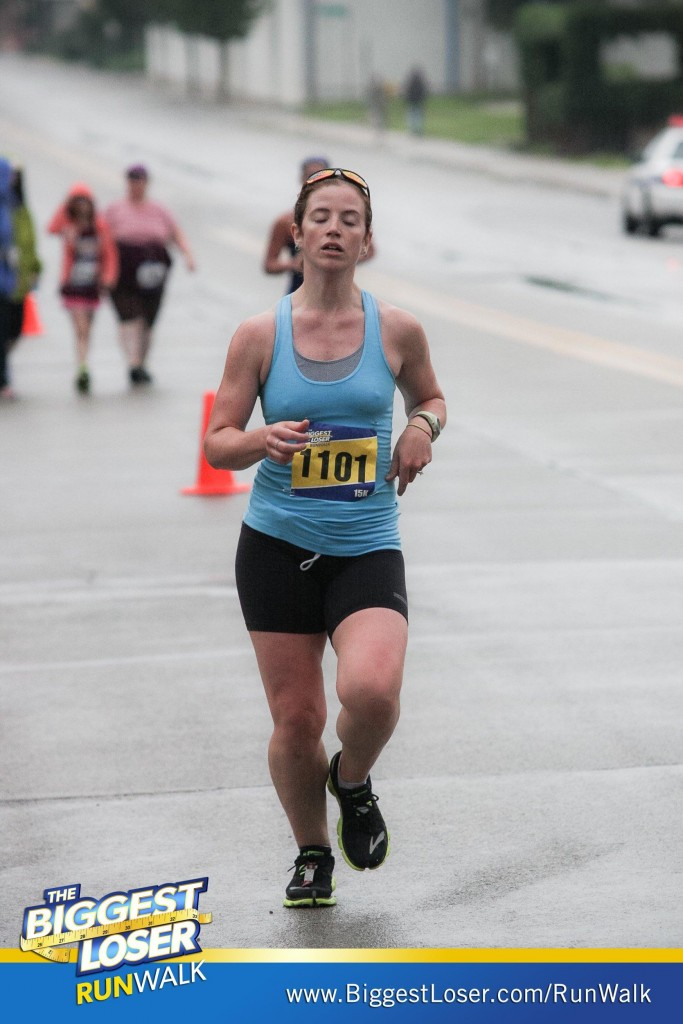 "Pretty sure I'm submitting this to ""worst race pics ever"" or whatever. This is why trying to smile at a photographer doesn't work for me."