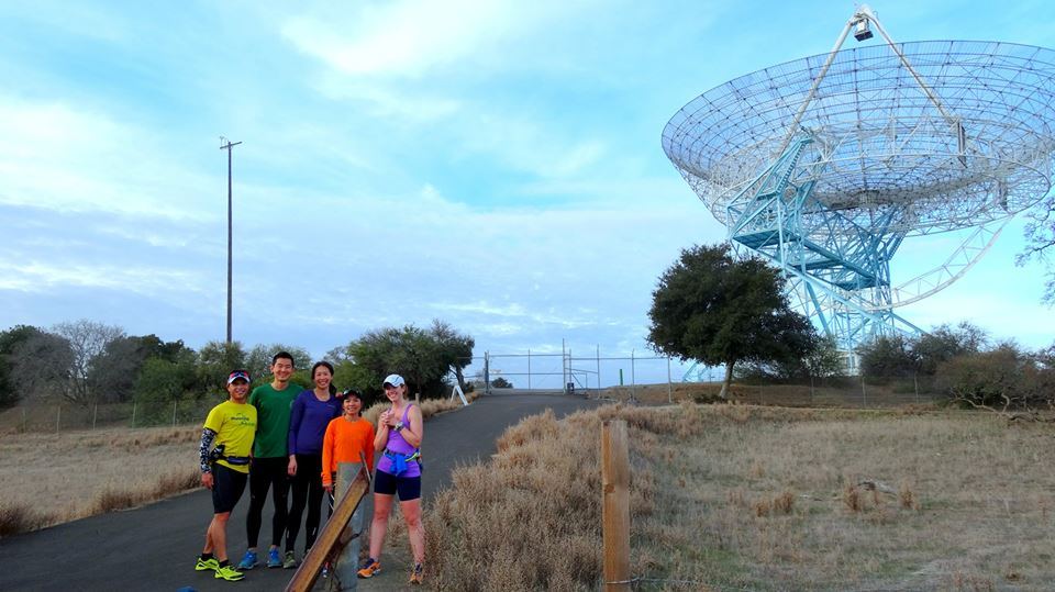 the (enormous communications) Dish at Stanford