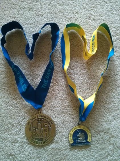 TSFM and Boston 2010 medals
