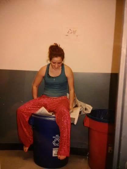 finals week, autumn quarter '02. I still have (and wear) those amazing pajama pants.