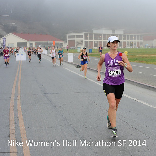 case in point: when you ask me about the Nike women's HM in SF I ran in Oct, I think of this pic ...
