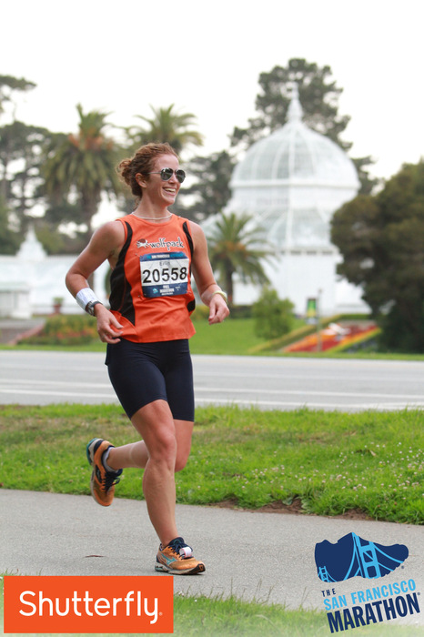 marathons make me happy. circa mile 18.5, with the conservatory in the background