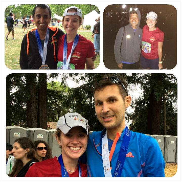 With Anil (top left); Chris (top right); and Austin (bottom). SO HAPPY!