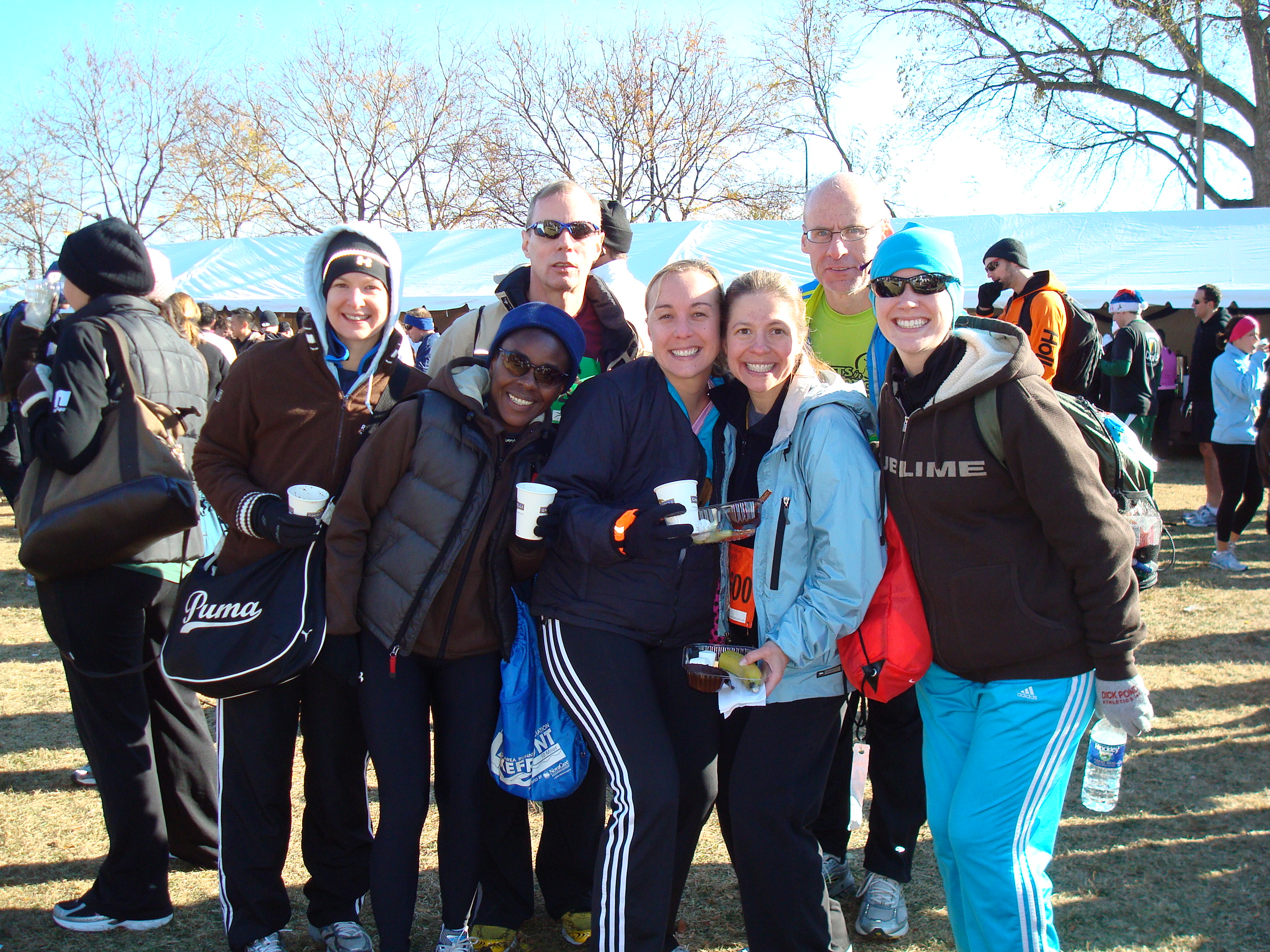 Hot Chocolate Chicago 5k - Pumpkin Chocolate Chip Cookies