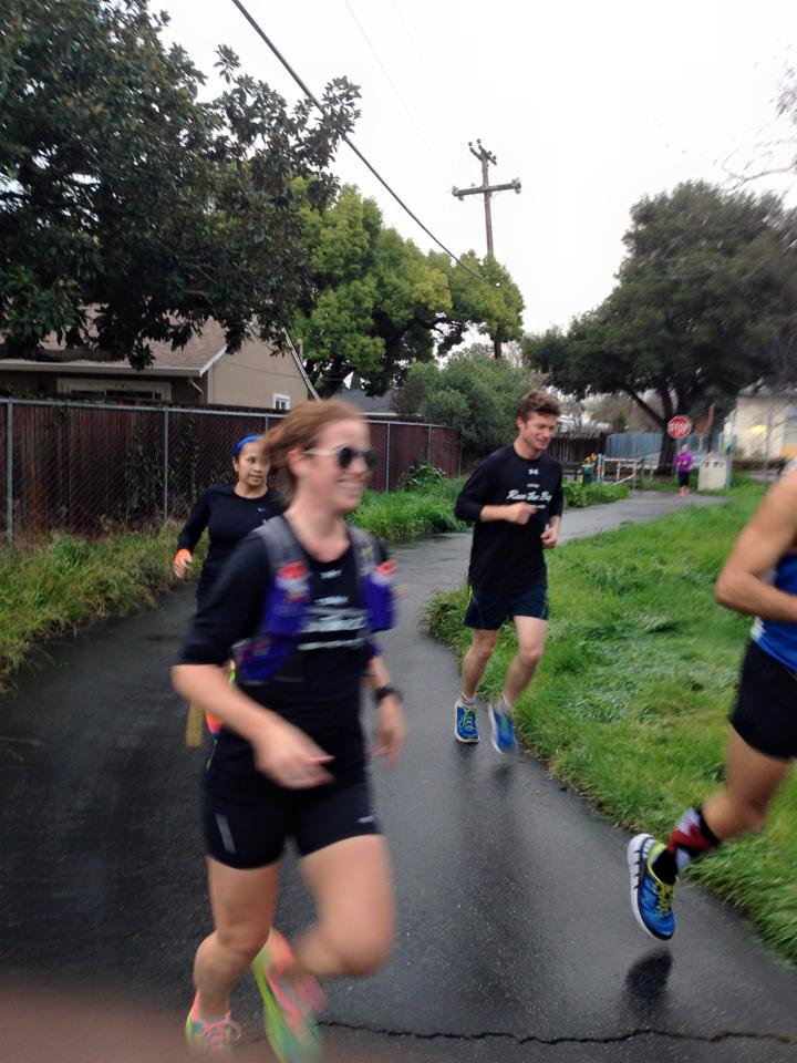 shit-eating grins are the best. On a run in Willow Glen last Saturday to promote the 408k. (cred: Bertrand)