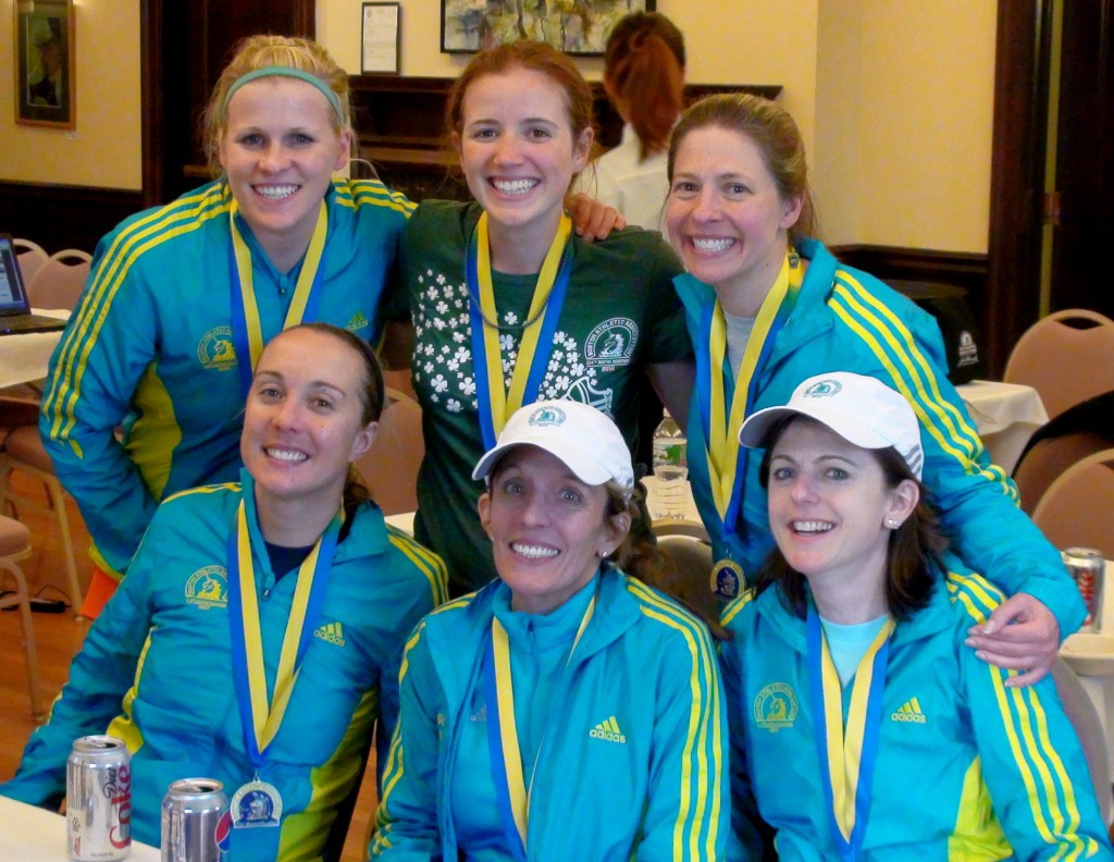 training with these ladies for Boston '10 -- almost everyone's first Boston experience -- has been one of the highlights of my marathoning experiences. so awesome. so cool.