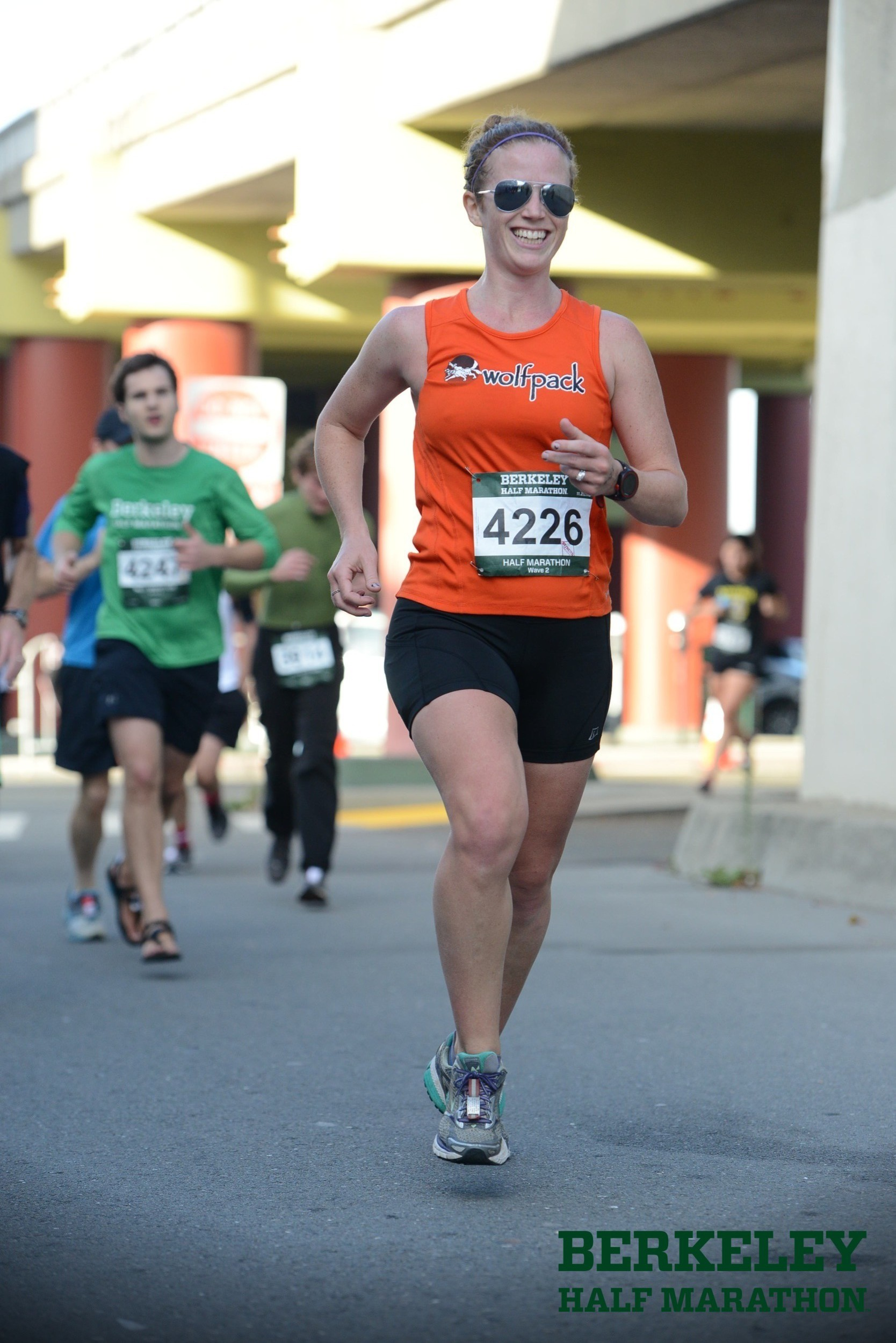 from Berkeley Half '15 somewhat freshly postpartum