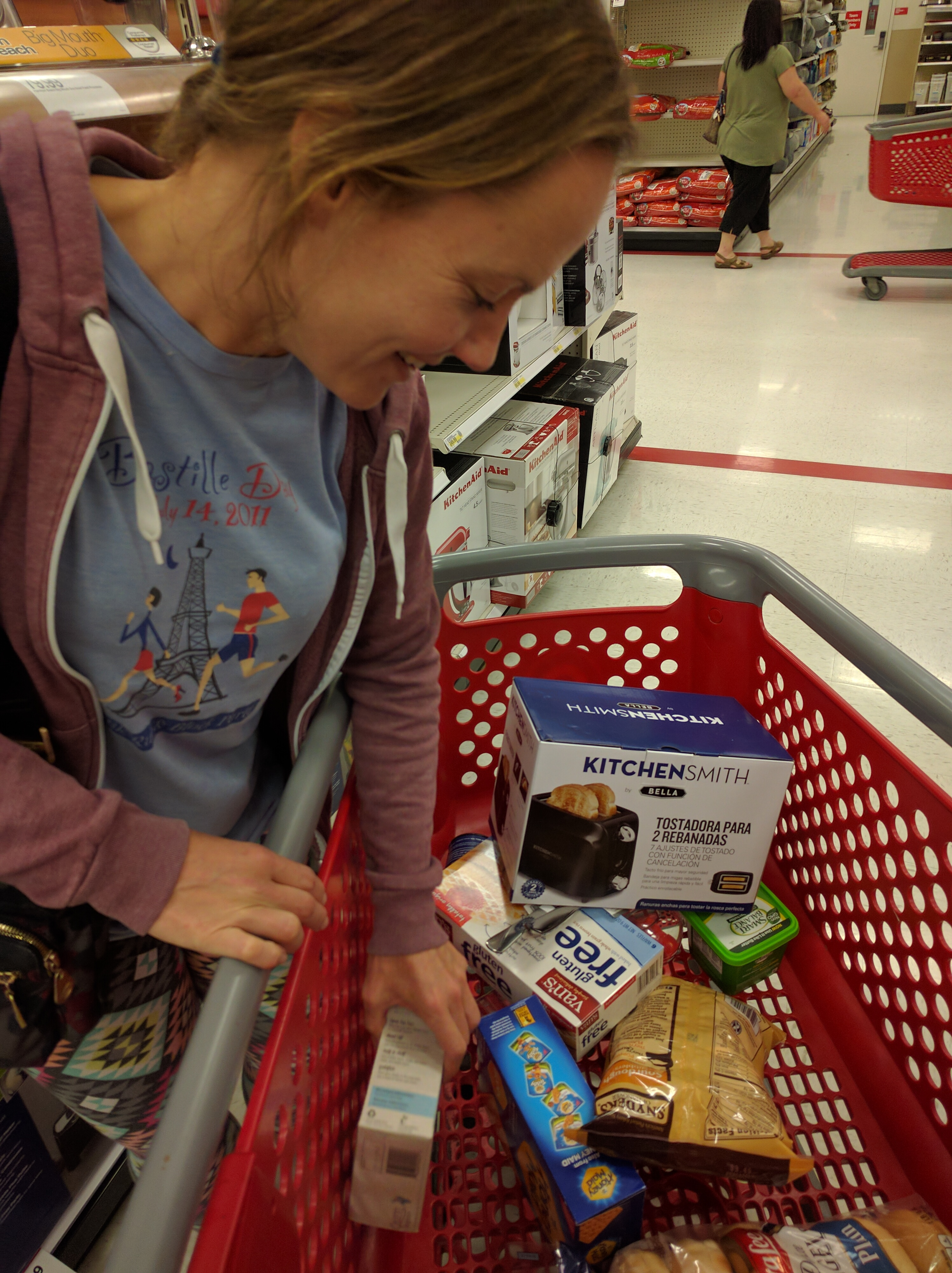 buying a toaster at a Target in Freso #YOLO